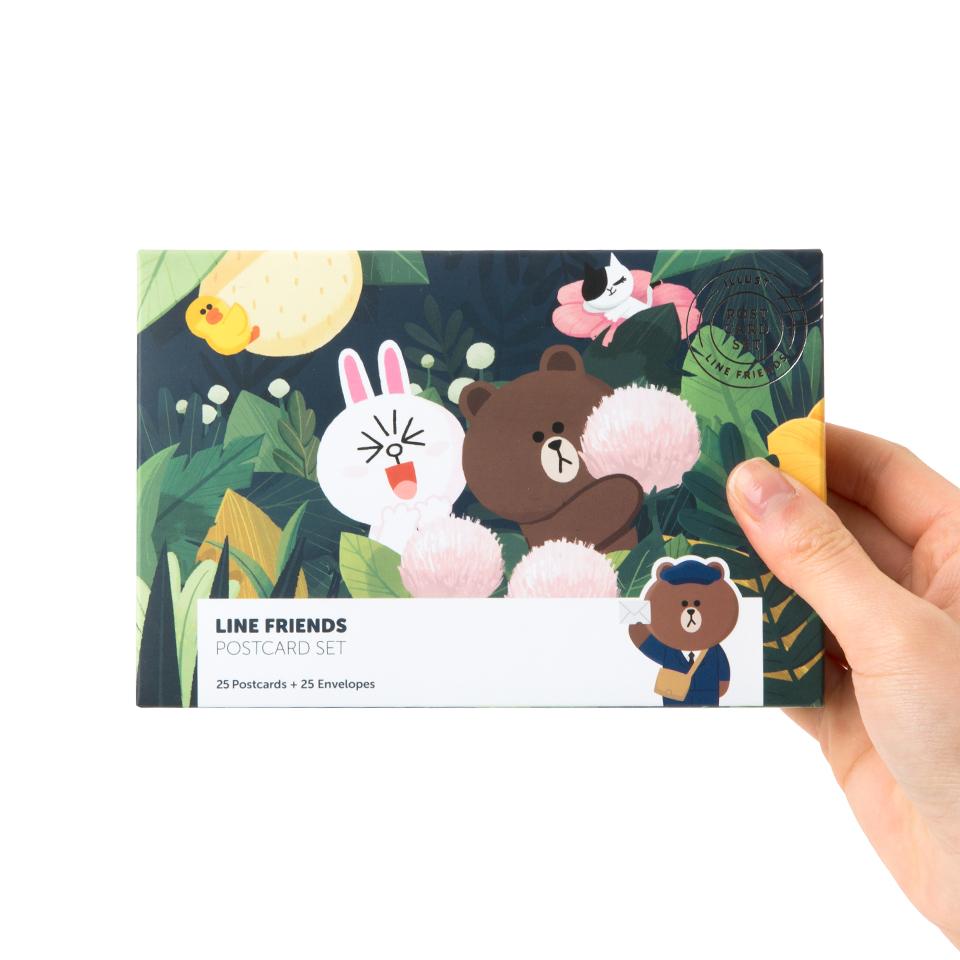 라인프렌즈 엽서 세트 (25개입)
