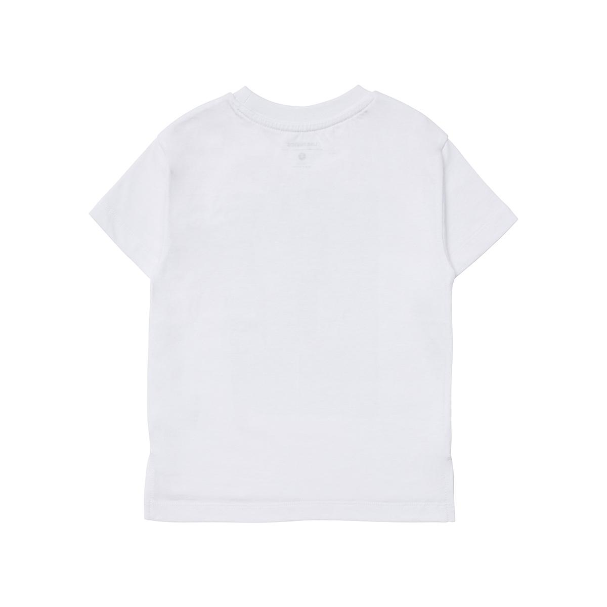 화이트 튜브 샐리 키즈 반팔 티셔츠