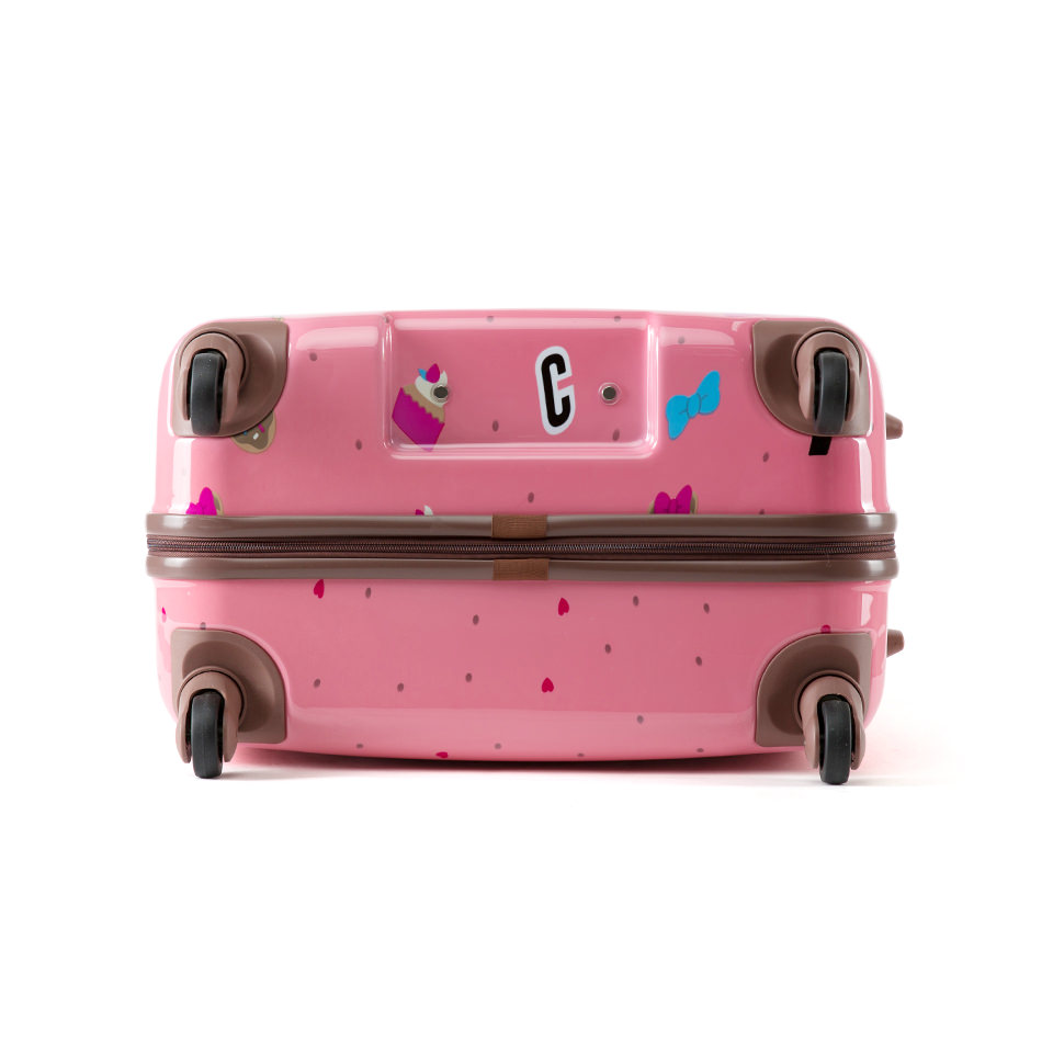 쌤소나이트 핑크 초코 캐리어 28인치