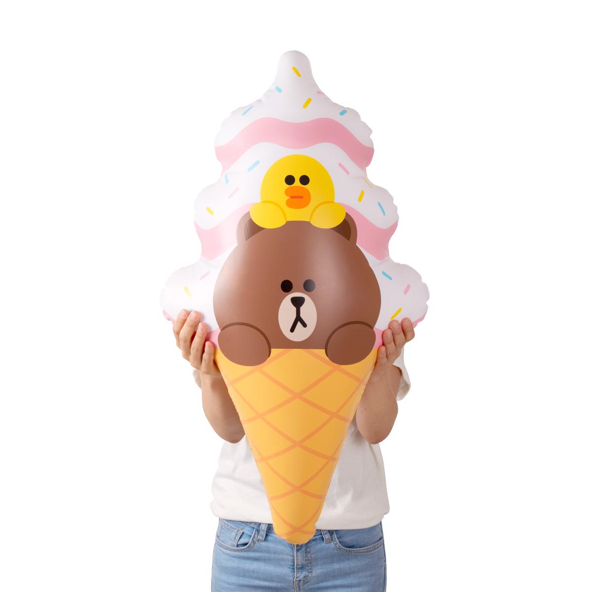 브라운&샐리 아이스크림 튜브