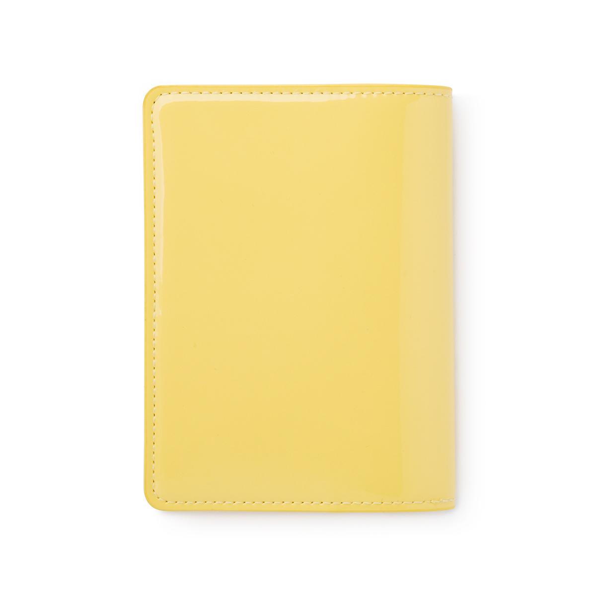 샐리 에나멜 여권 케이스