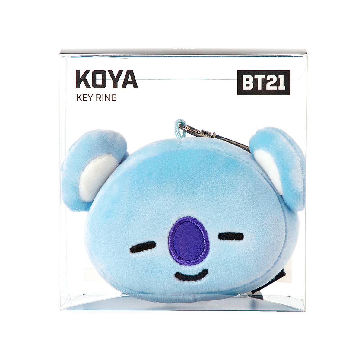 BT21 KOYA 얼굴인형 키링 (10cm)