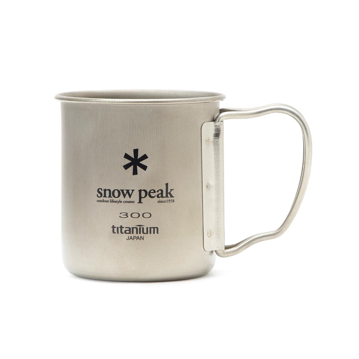스노우피크 브라운&샐리 티타늄 캠핑 머그컵 300ml