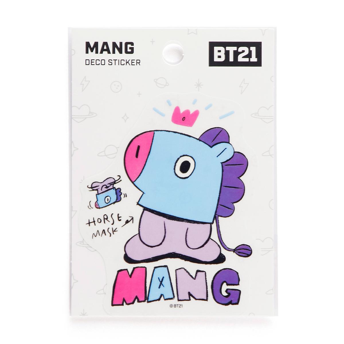 BT21 MANG 데코 스티커