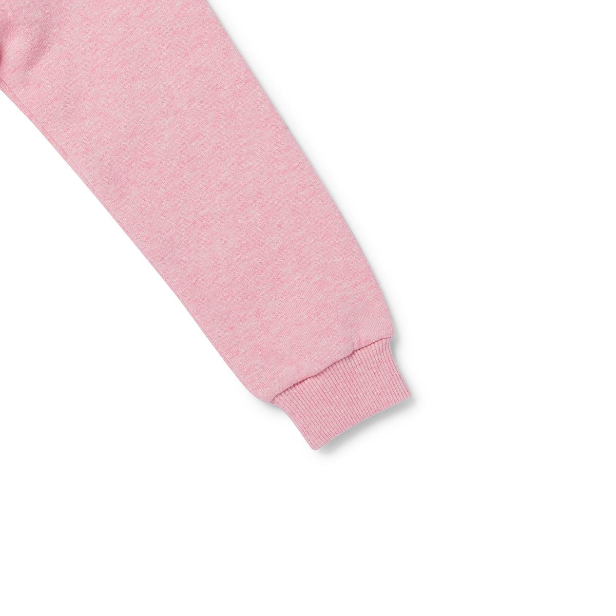 핑크 코니 키즈 면 기모 스웻셔츠