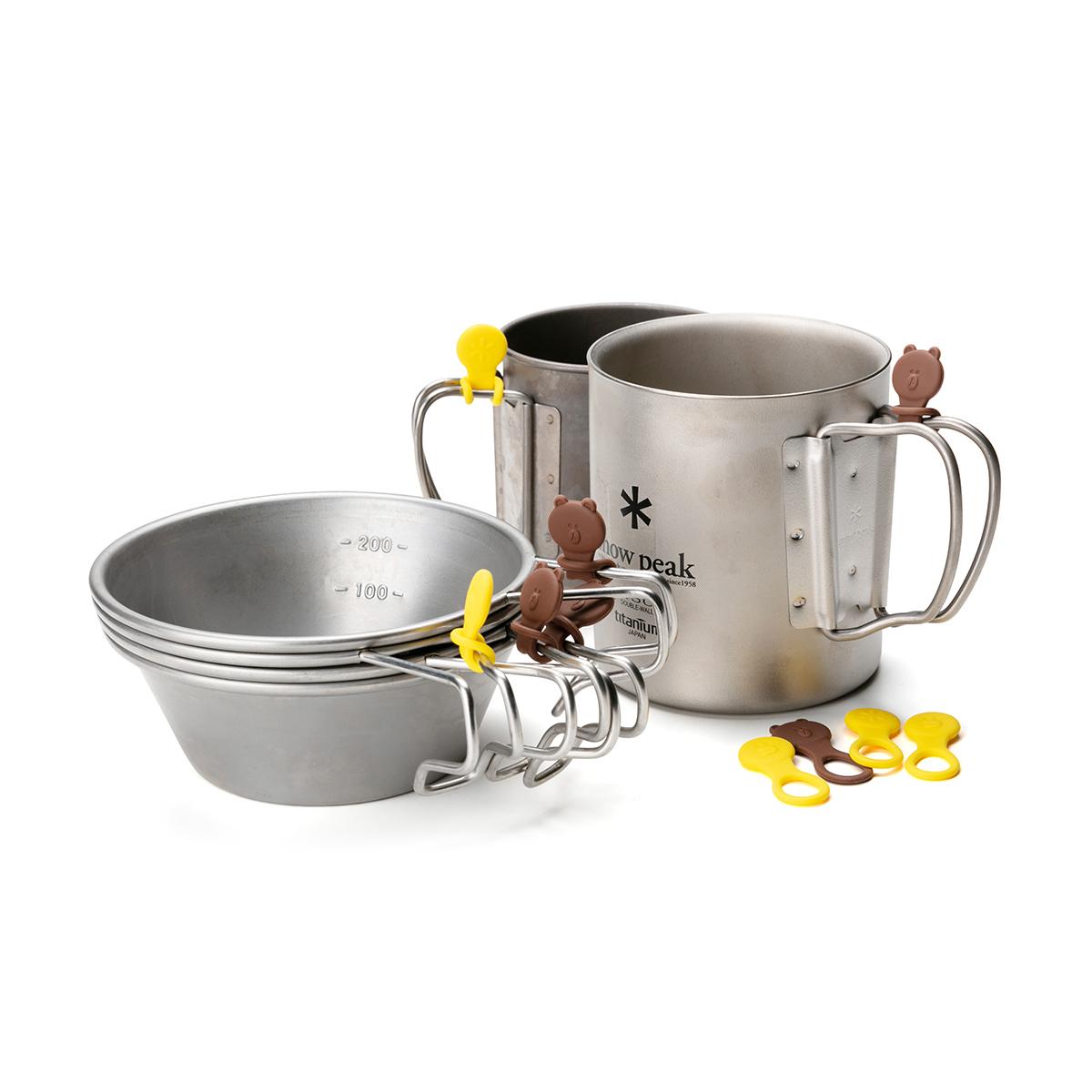 스노우피크 브라운&샐리 컵마커 (10개입)