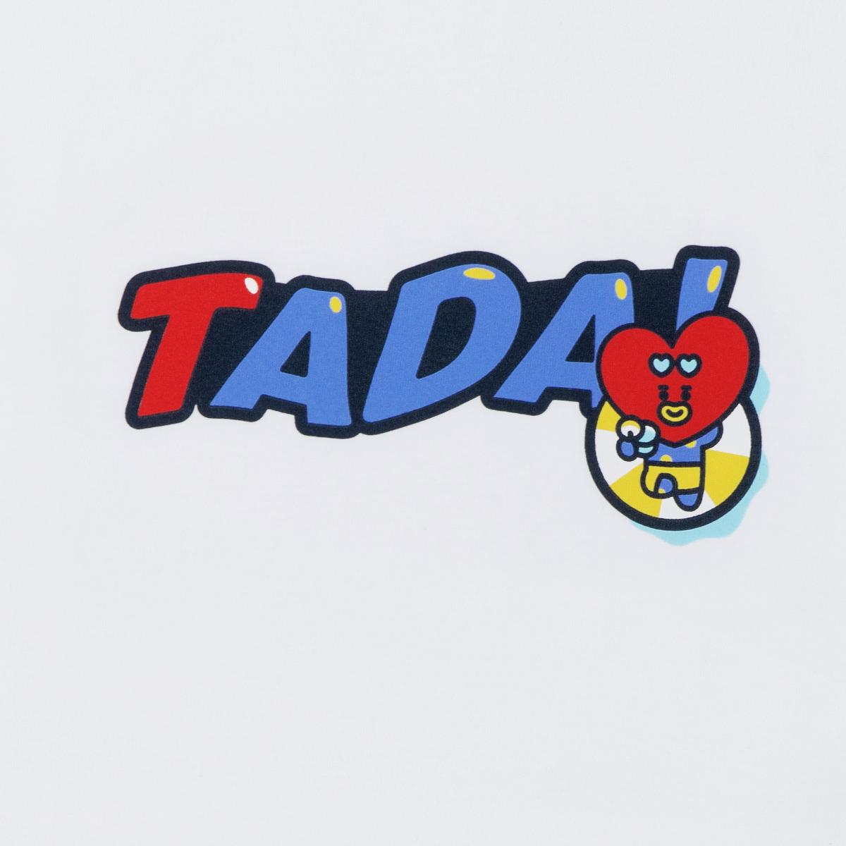 BT21 TATA 본보야지 반팔 티셔츠