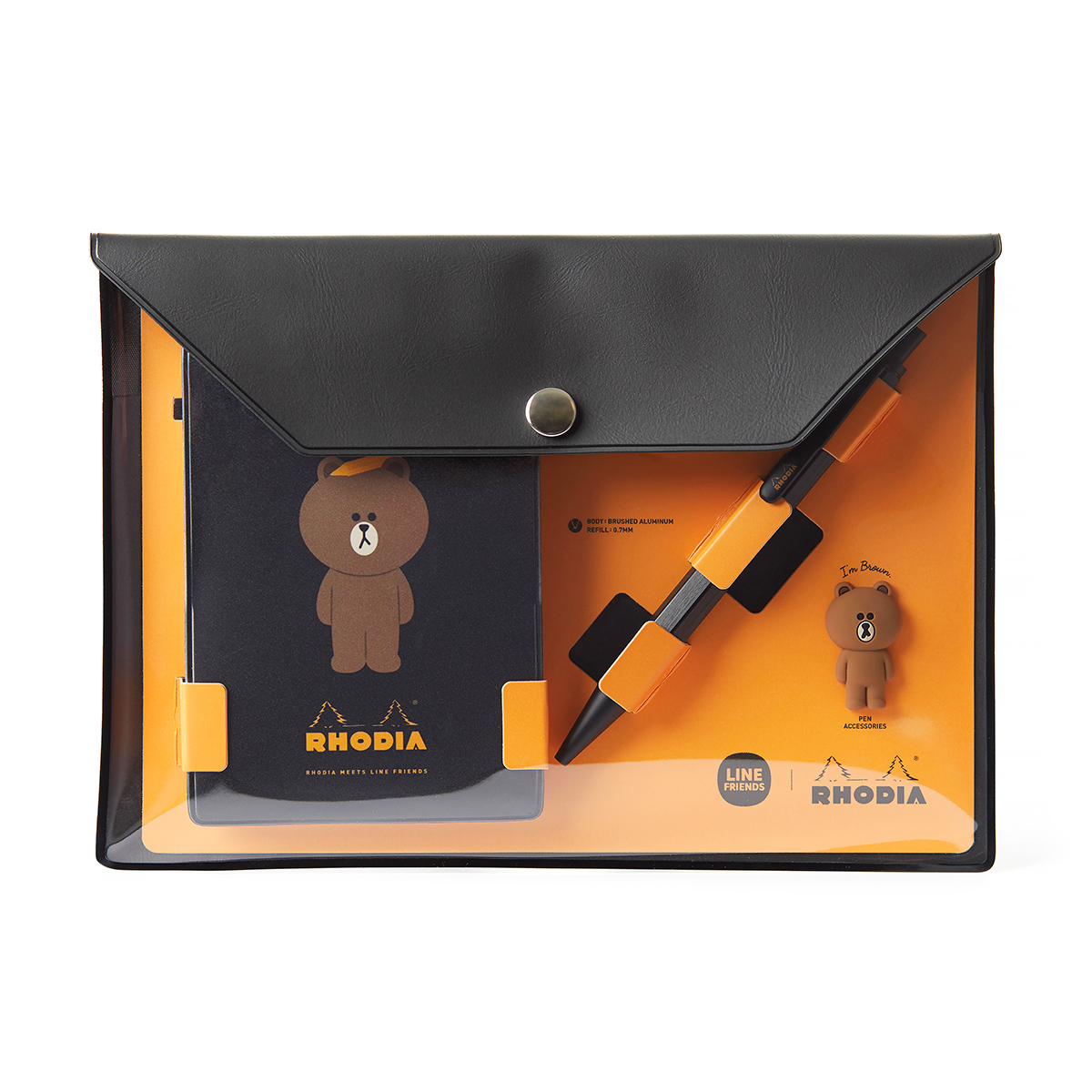 BROWN & FRIENDS | RHODIA BROWN Special Edition