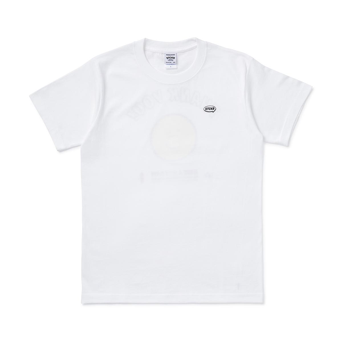 [스티커 컬렉션] 샐리 땡큐 반팔 티셔츠
