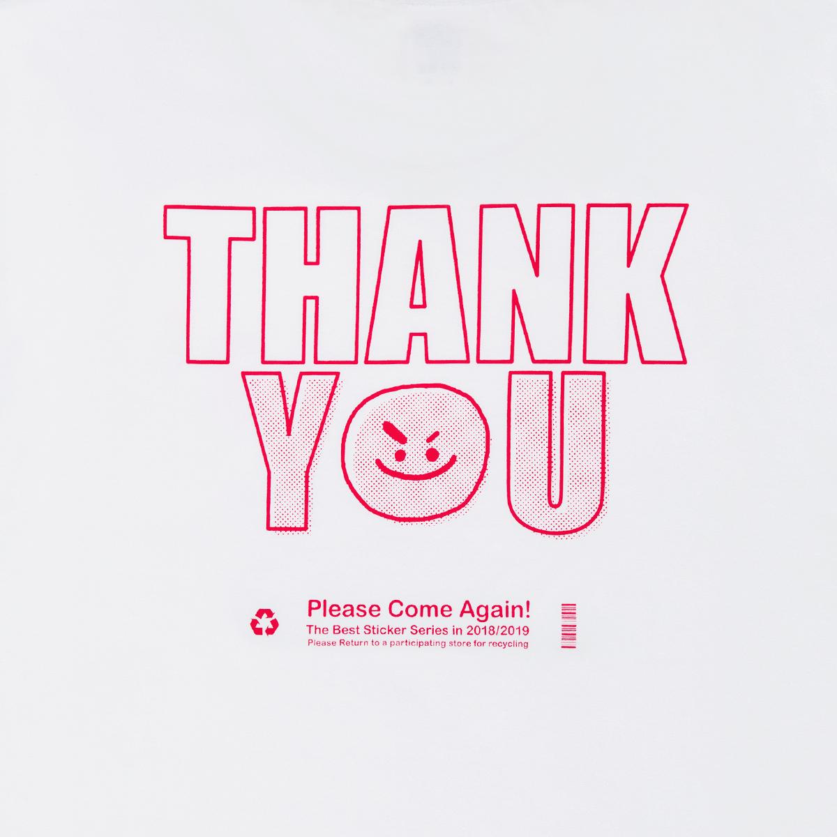 [스티커 컬렉션]BT21 SHOOKY 땡큐 반팔 티셔츠