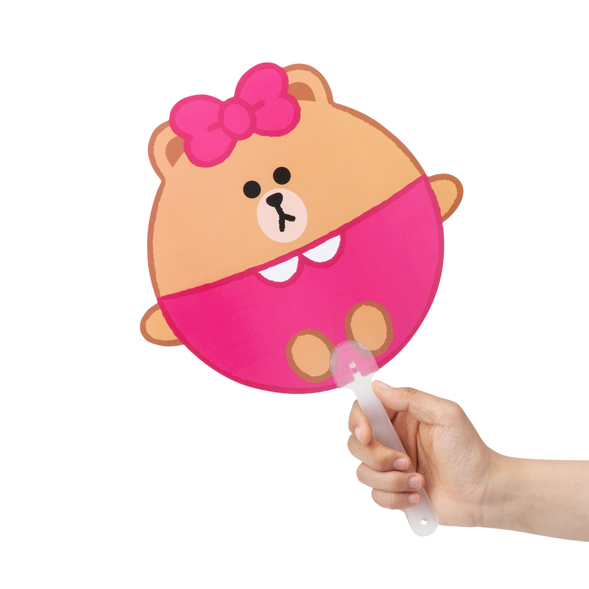 초코 퐁퐁 막대 부채