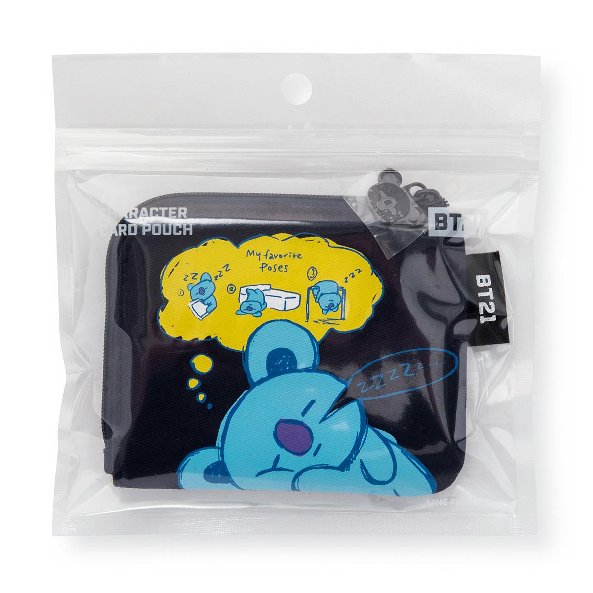 BT21 KOYA 카드 파우치