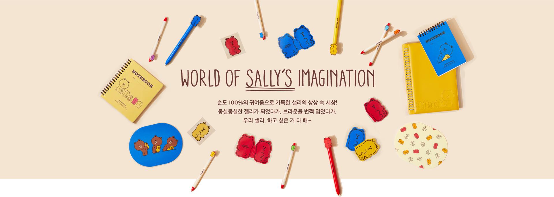 World of Sally's Imagination