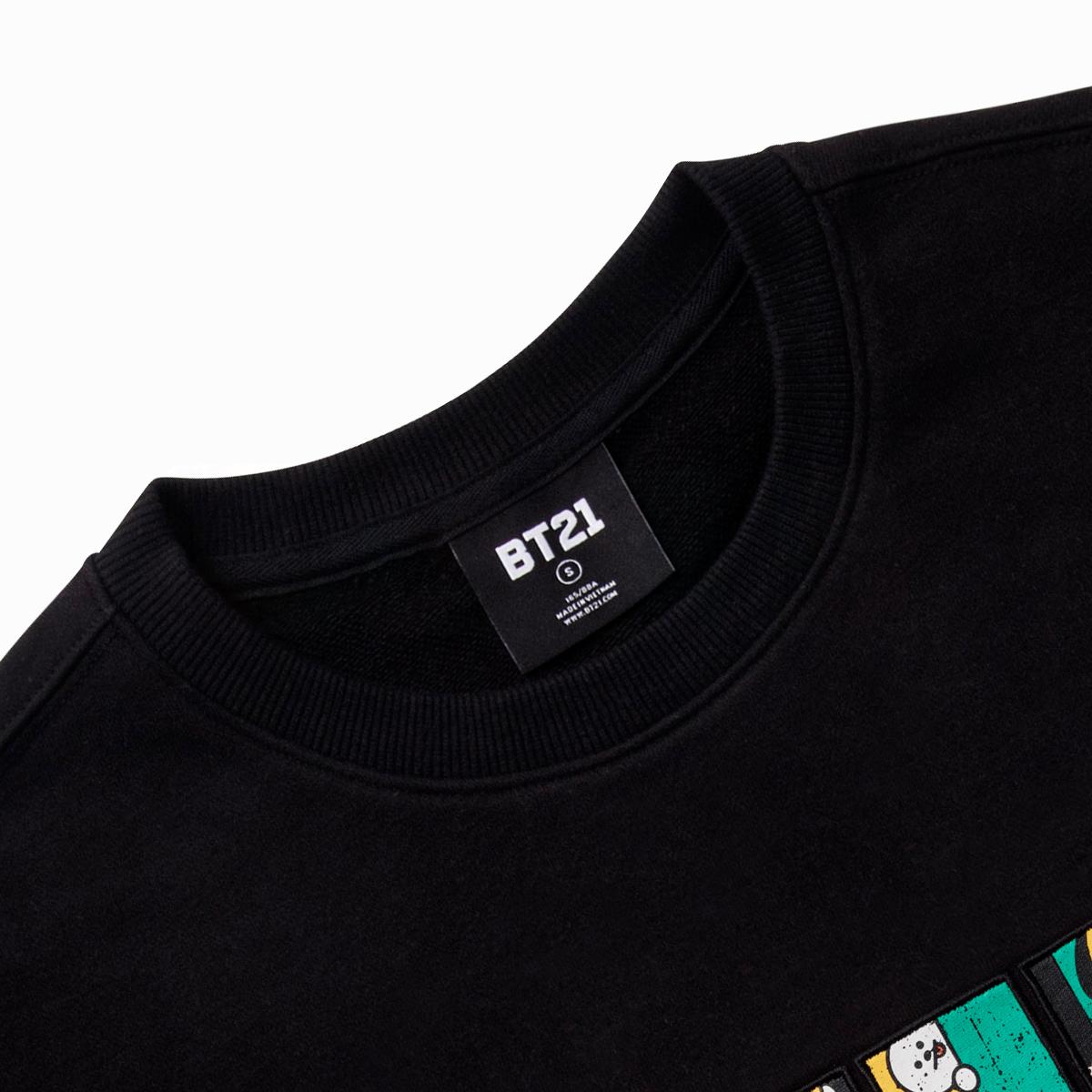 BT21 CHIMMY 코믹팝 스웻셔츠