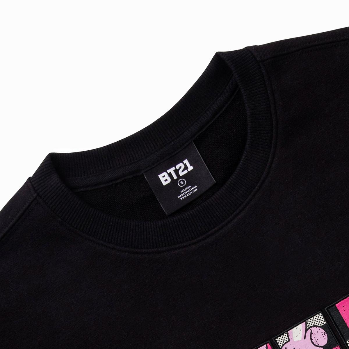 BT21 COOKY 코믹팝 스웻셔츠
