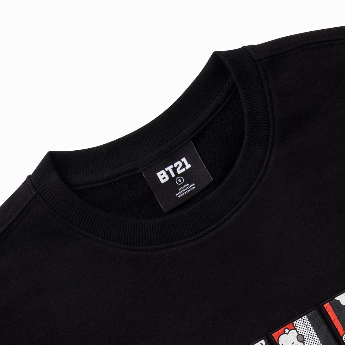 BT21 RJ 코믹팝 스웻셔츠