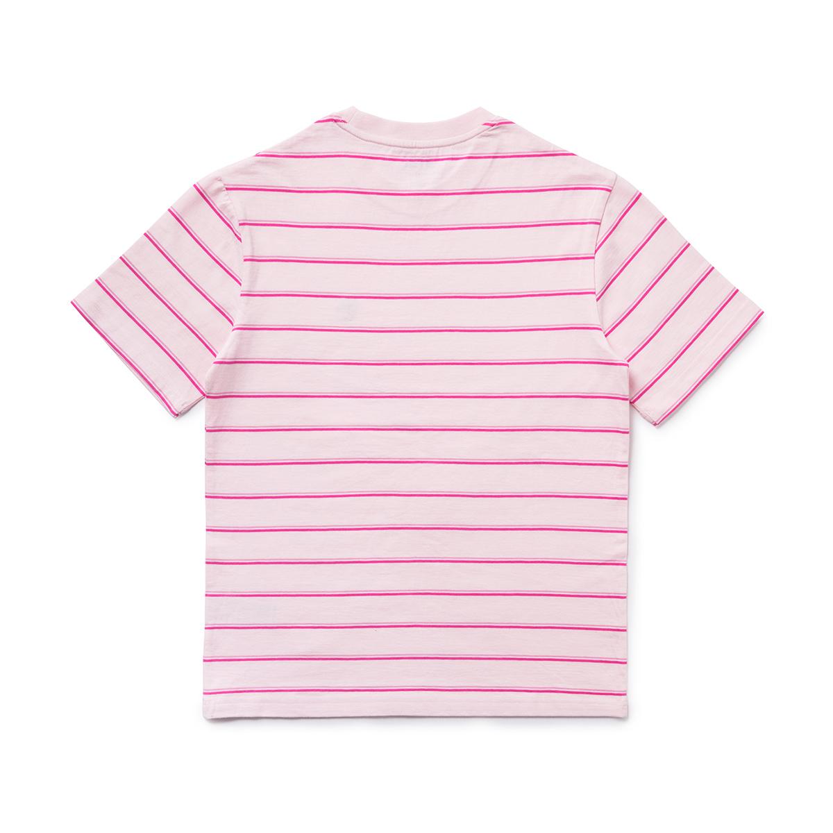 BT21 COOKY 베이직 스트라이프 반팔 티셔츠