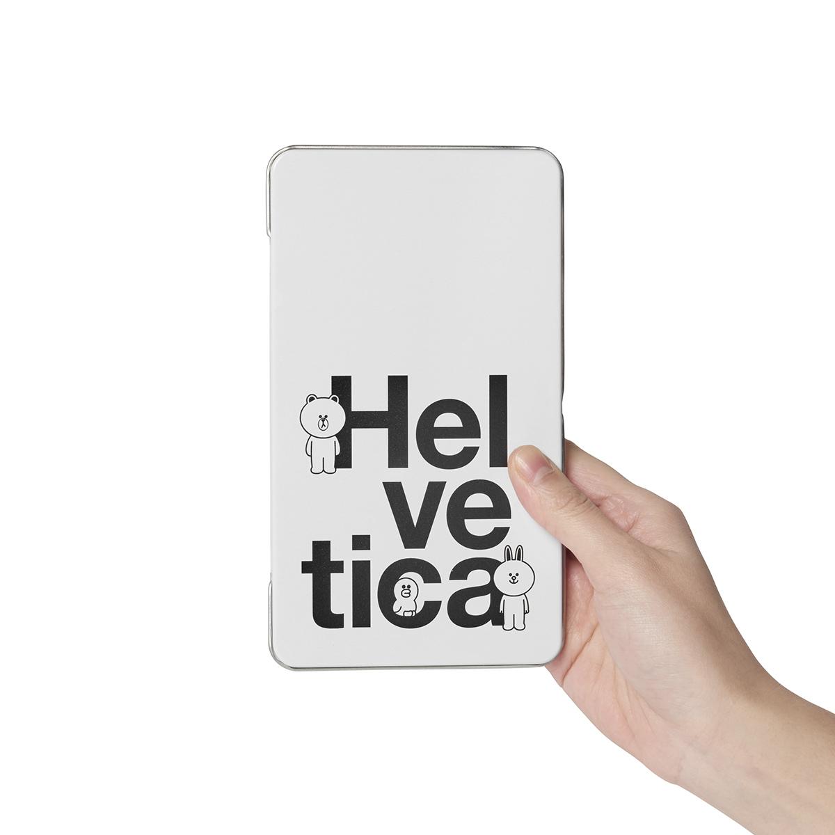 HELVETICA 브라운앤프렌즈 다크초콜릿