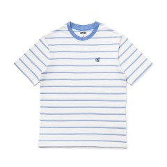 BT21 KOYA 베이직 스트라이프 반팔 티셔츠
