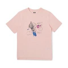 BT21 VAN 두들링 반팔 티셔츠